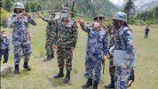 प्रधानसेनापति र सशस्त्रका आईजीपीको छाङरु भ्रमणको सन्देश