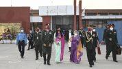 नरवणेको नेपाल भ्रमणमा सेनाको उत्कृष्ट व्यवस्थापन